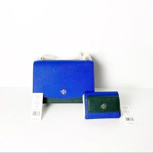 FIRM TORY BURCH Emerson Shoulder Bag & Wallet NWT